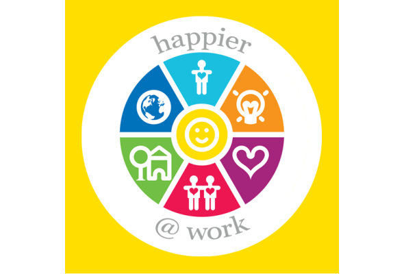 Happier work logo listing