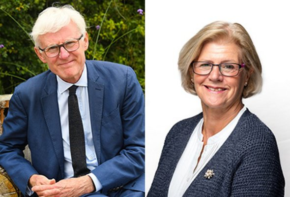 Sir norman lamb and helen edwards cb cbe no border listing