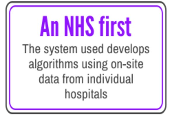 An nhs first listing